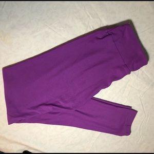 LulaRoe Purple OS Leggings